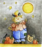Scarecrow and Friends Art Print