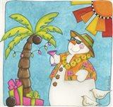 Hawaiian Holiday Art Print