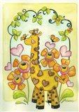 Childrens Safari Art Print