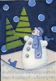 Midnight Christmas Art Print