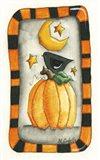 Halloween Mr P and Friends Art Print