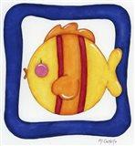 Favorite Pets Fishy Art Print