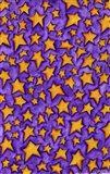 Color Stars Coordinate Art Print