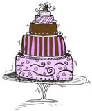 5 Tier Cake Art Print