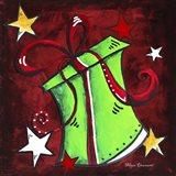 Green Present Art Print