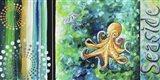 Seaside Sea of Whimsy Art Print