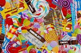 Candy Collage 2 Art Print