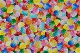 Gummie Drops Collage 1 Art Print