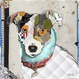 Jack Rusell Rat Terrier Mix Art Print