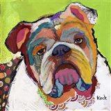 American Bulldog Art Print