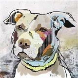 Pitt Bull Art Print