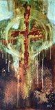Abstract Cross 2 Art Print
