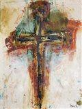 Abstract Cross 4 Art Print