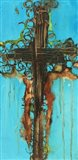Abstract Cross 5 Art Print