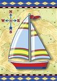 Nautical V Art Print