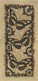 Apple 3 Butterflies Art Print