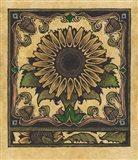 Apple Sunflower 2 Art Print