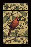 Apple Cardinal Art Print