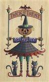 The Pumpkin Queen Art Print