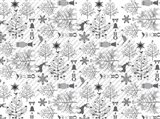 Silver Ice Layout 6 Art Print