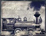 Railway Beantown Art Print