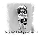 Football Baby 1 Art Print
