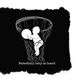 Basketball Baby Art Print