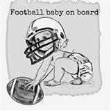 Football Baby 3 Art Print