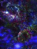 Orphan Planet, Distant Star Art Print
