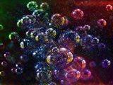 Hot Bubbles Art Print