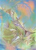 Pastel Warrior Art Print