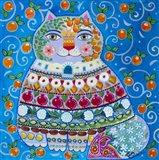 Folk Oriental Art Print