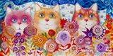 Magic Cats 2 Art Print