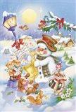 Holiday Songs Art Print