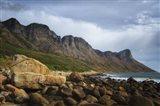 Coastal Mountains Art Print