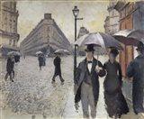 Rainy Day In Paris Art Print