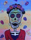 Screaming Frida Art Print