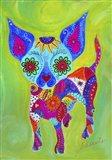 Talavera Happy Chihuahua Art Print