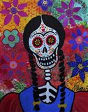 Young Frida Art Print