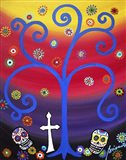 Cemetery Rainbow Art Print