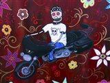 Street Glider Harley Art Print