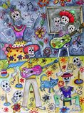 Fiesta Calavera Art Print