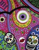 Abstract Frida Dod Art Print