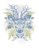 Deer Adventure Art Print