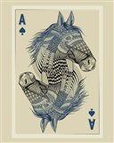 Geo Horse Art Print