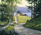 Coastal Backroads Art Print