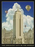 New York Day Art Print