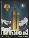 New York Night Art Print