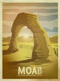 Moab Arches Art Print
