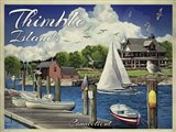 Thimble Islands Conn Art Print